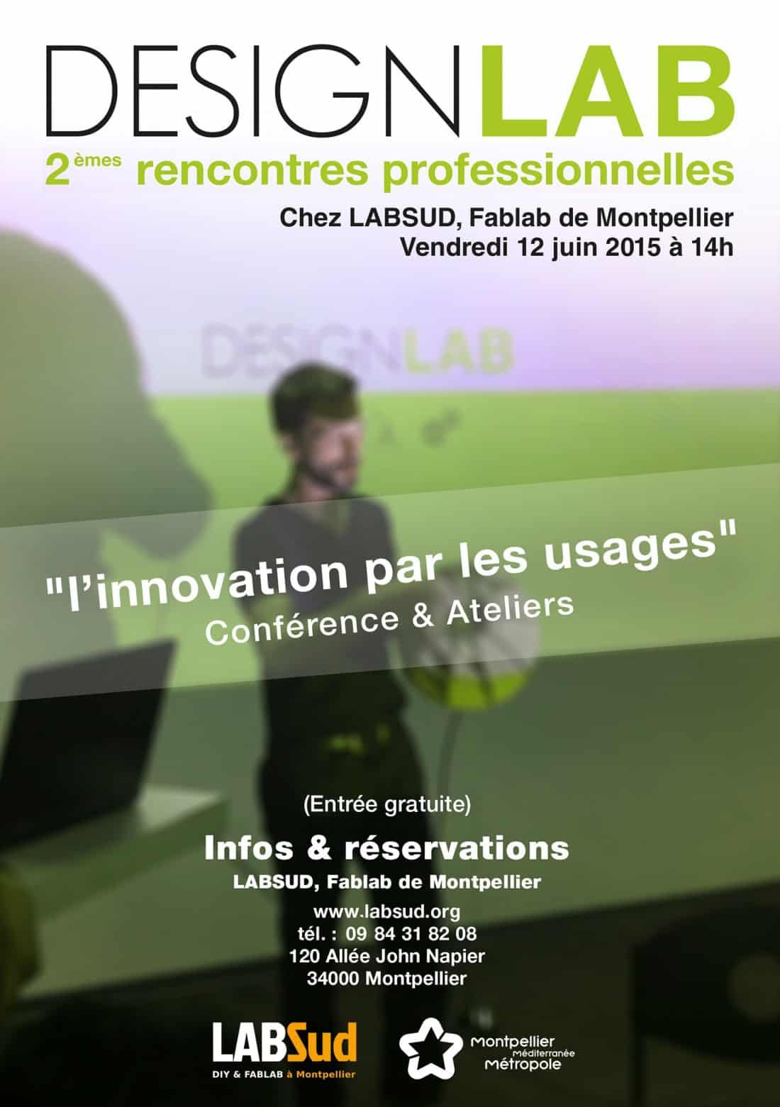 Innovation par les usages - rencontre pro - design