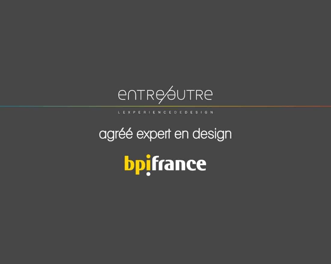 Agence de design produit et numérique agréé crédit impot innovation BPI FRANCE