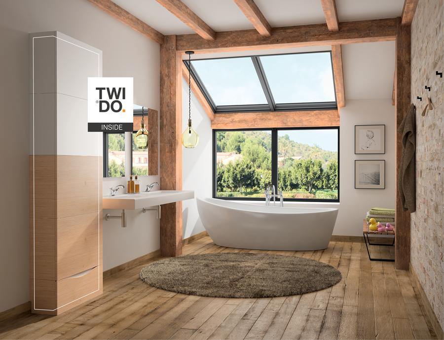 TWIDO Design Entreautre - innovation - chauffe eau connecté - couleur matière et finition - CMF