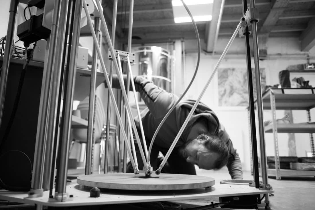 Entreautre partenaire du 8fablab - Drome - impression 3D céramique