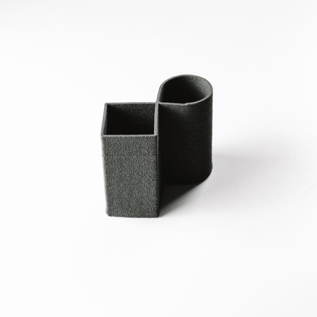 expérimentation céramique - vase contemporain - design objet Rhône Alpes