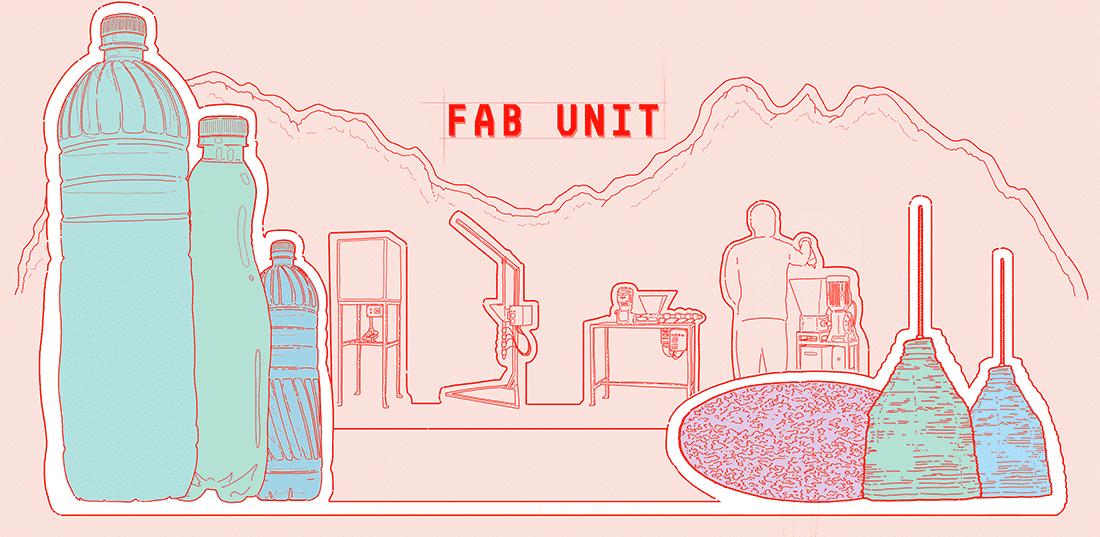 fabunit, unité de fabrication locale, recyclage plastique, made in france, entreautre partenaire