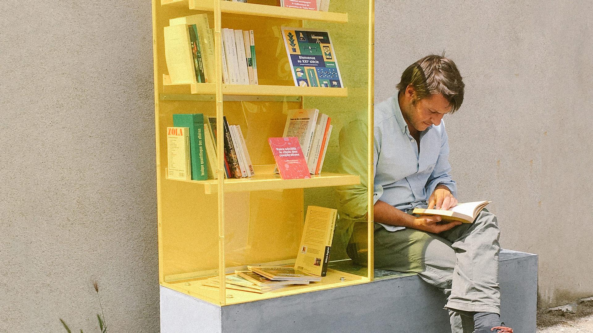 tests de prototype - mobilier urbain - give box - Crest Drôme