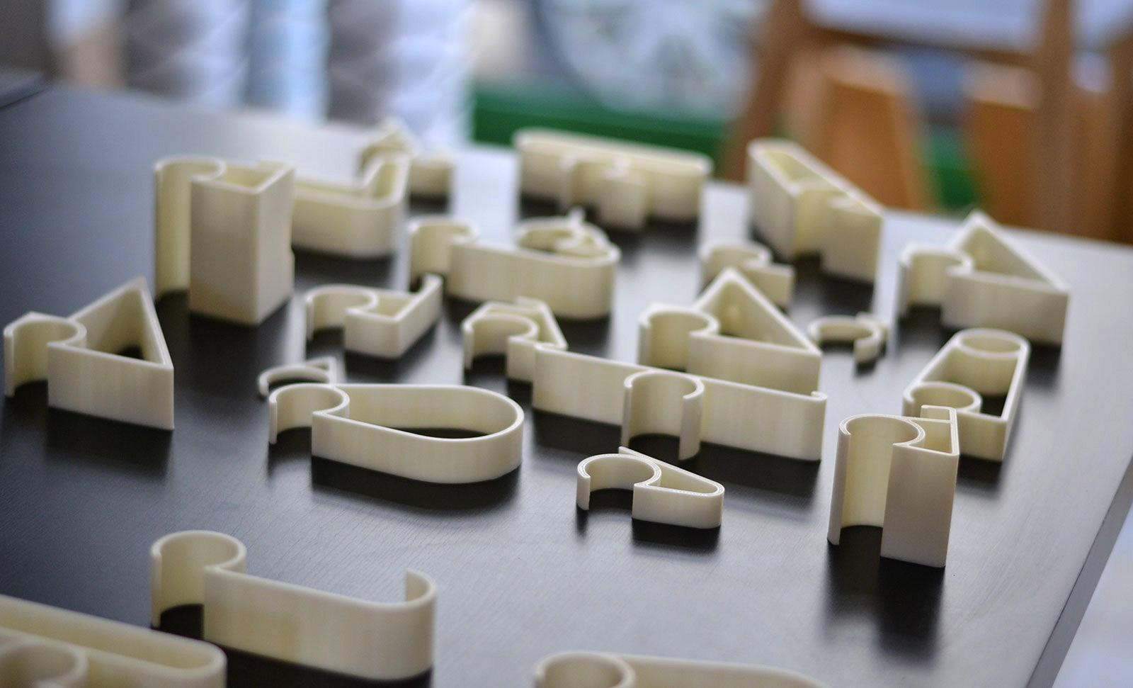 Profil - Les modules sont des profils d'extrusion optimisés pur l'impression 3D