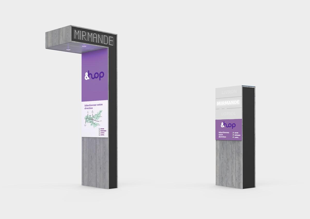 Sation de mobilité - design produit