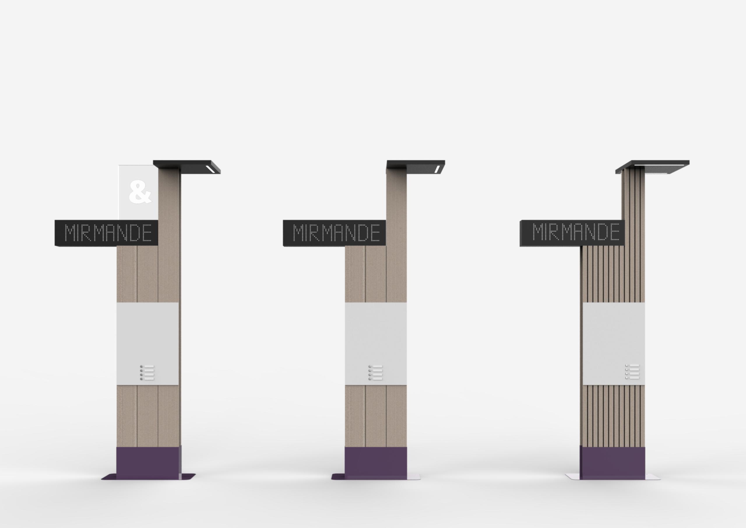 Station de mobilité - design produit